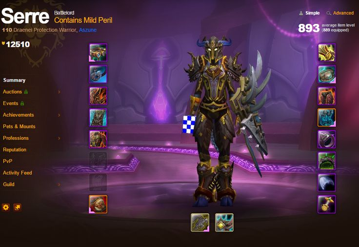 Prot warrior balance of power artifact looking as glorious as ever on the armoury page! #worldofwarcraft #blizzard #Hearthstone #wow #Warcraft #BlizzardCS #gaming