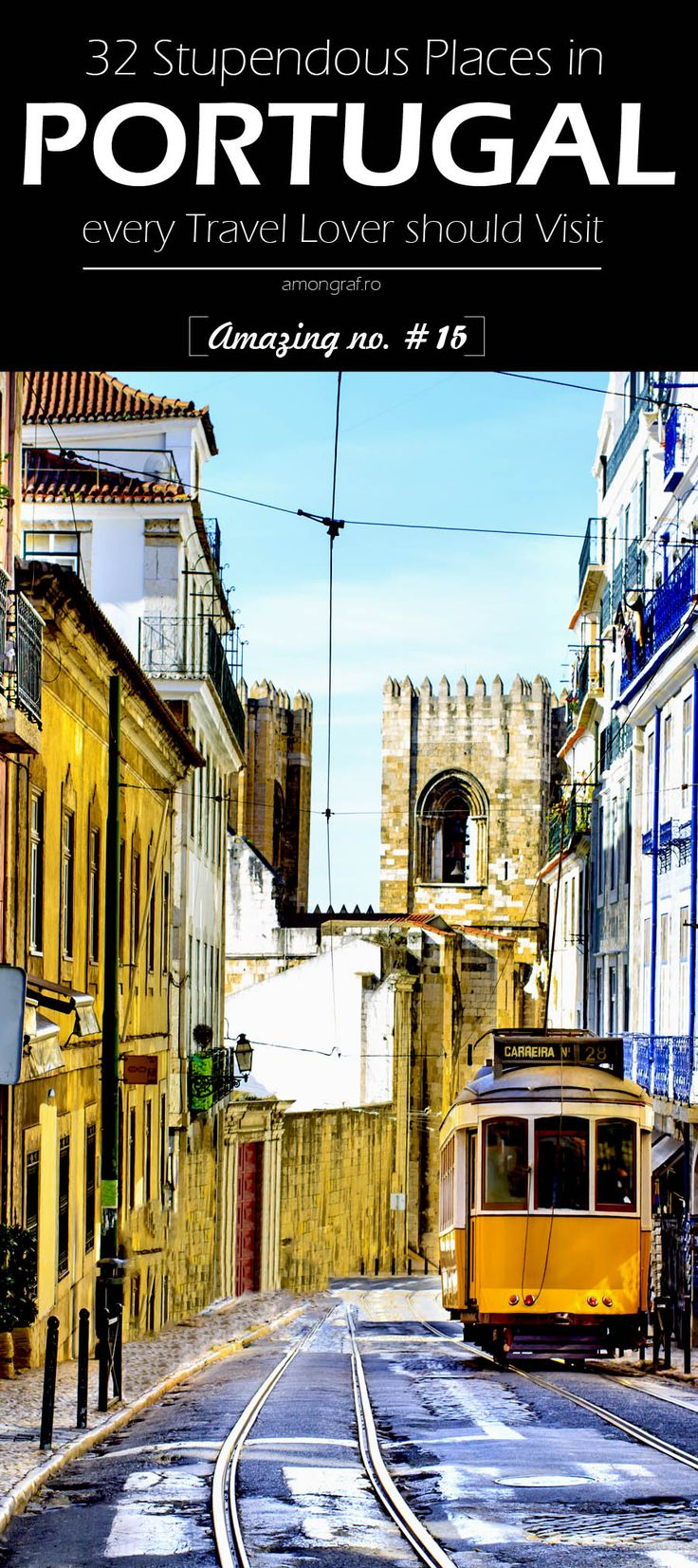 32 Stupendous Places in Portugal every Travel Lover should Visit #Portugal #Travel