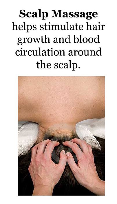 scalp-massage for hair-growth