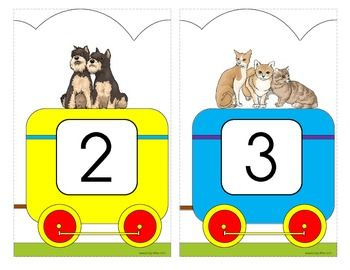 Number Train Wall Decor 1-20 | Math and logical activities ...