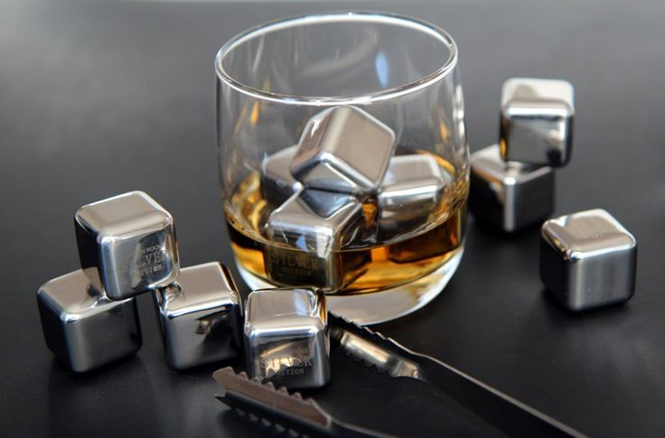 Silver Scotch Rocks. A classy and sophisticated gift.