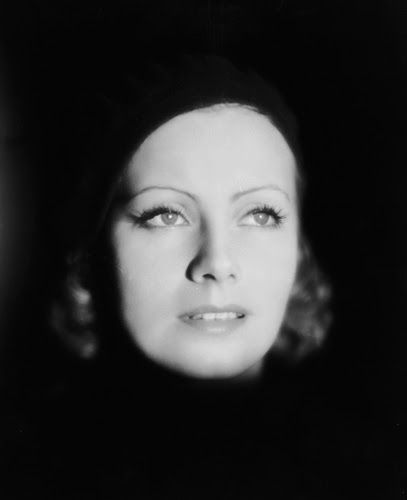 "Vintage Glamour Girls: Greta Garbo in "" The Kiss """