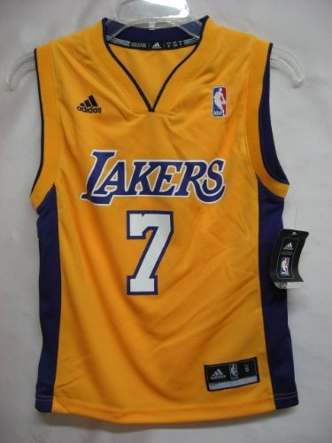 ... Lamar Odom Los Angeles Yellow NBA Youth Revolution 30 Replica Jersey  6.99 ... 36ff3436f