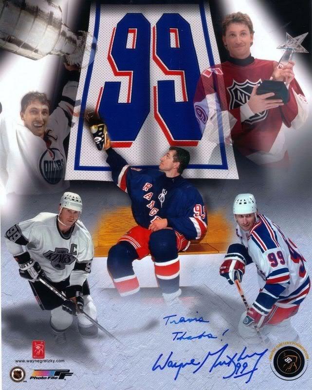 Wayne Gretzky signed to me.