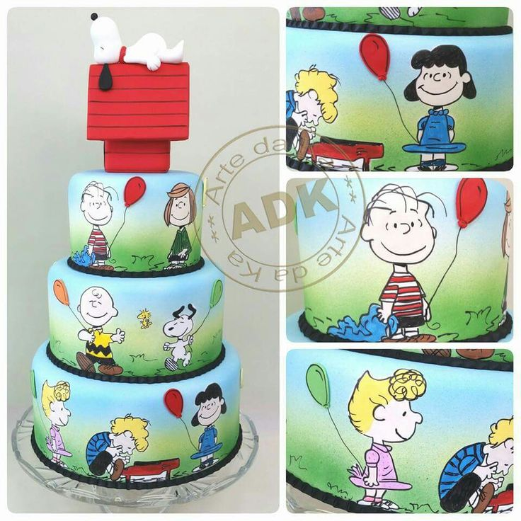 Denise S Bakery Cake Design Akademie : 200 best images about Snoopy Cakes, Cupcakes and Cookies ...
