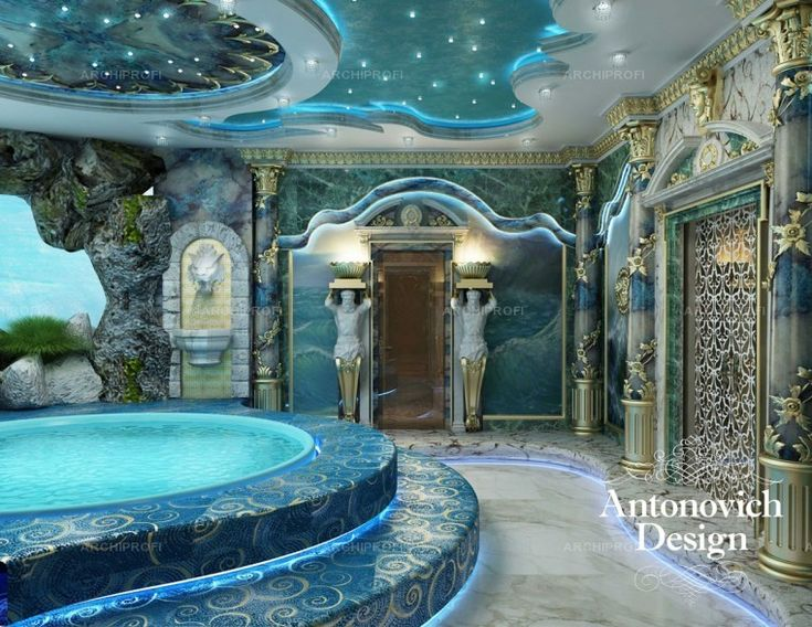 Hammams from studio ANTONOVICH DESIGN