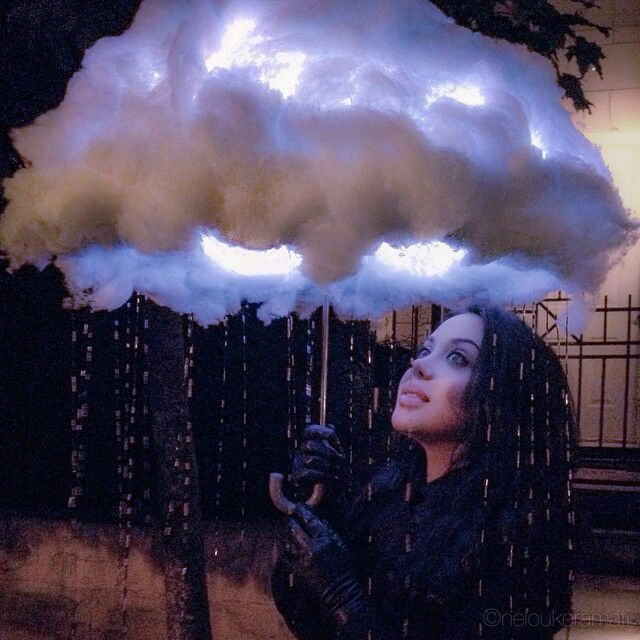 LED RAINCLOUD