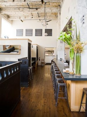 Discovered a wonderful restaurant in SF this week.  Love the space and the food --  Serpentine