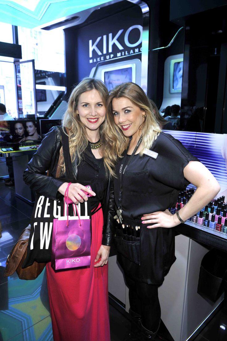 Makeovers at Kiko Cosmetics on #RegentStreet. #RegentTweet