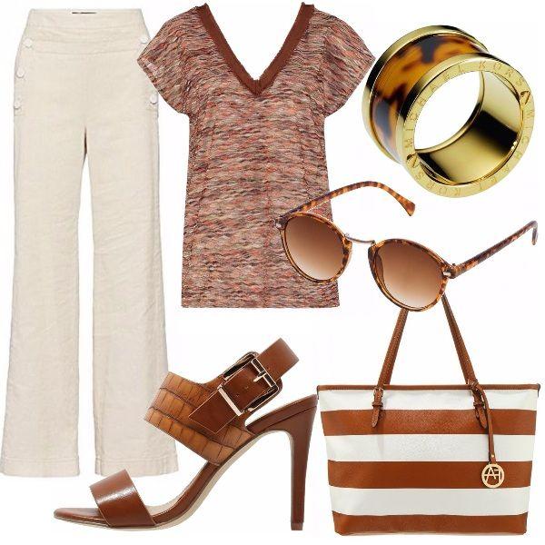 I pantalone Pennyblack in cotone e lino sono lideale per essere eleganti senza…