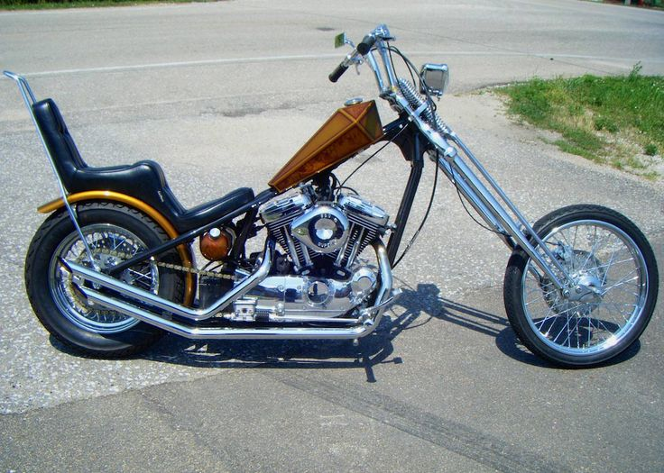 Harley | Harley-Davidson | Chopper | Custom Motorcycle | Sportster ...