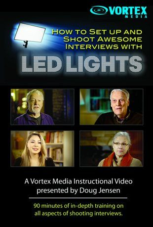 Watch How to Set Up and Shoot Awesome Interviews with LED Lights Online | Vimeo On Demand