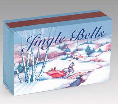 Matchbox Music Box: Animal Miniatures, Matchbox Melody, Miniatures Scene, Wind Keys, Jingle Belle, Holidays Favorite, Jingle Bells, Belle Matchbox, Delight Stockings