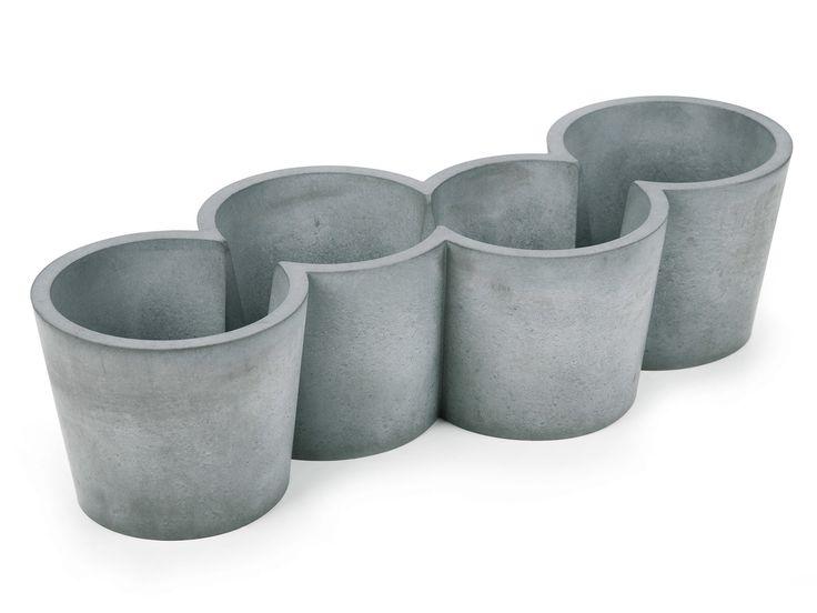 Macetero de cemento POTPOT by KONSTANTIN SLAWINSKI | diseño Fries