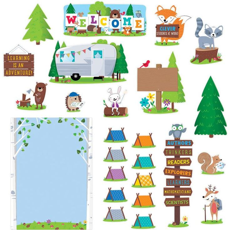 Make School Feel Like Adventure Camp With The Woodland Friends