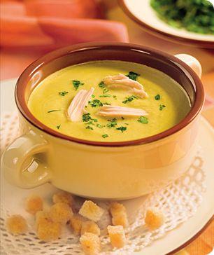 Суп-пюре детский  кабачковый