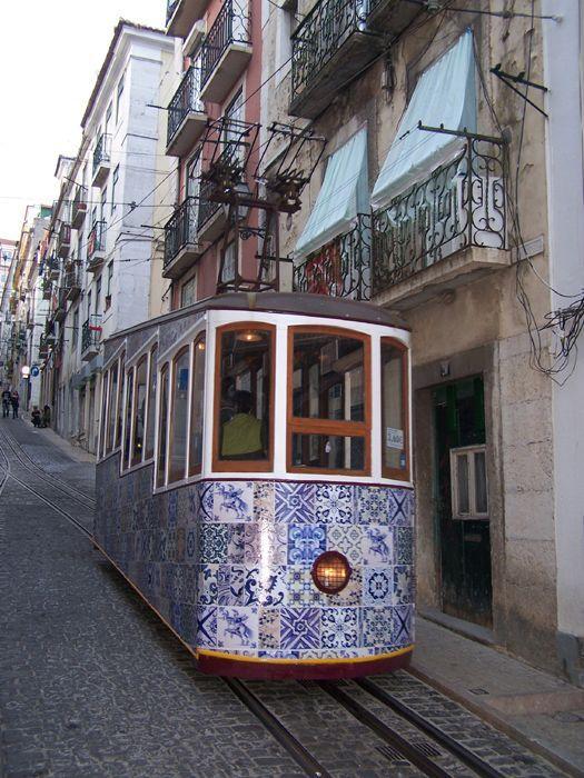 Tram, Electrico, Lisbon, Lisboa, Portugal