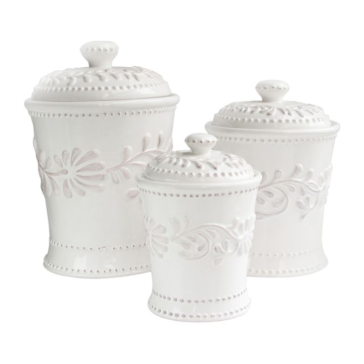 3-Piece Beverly Canister Set