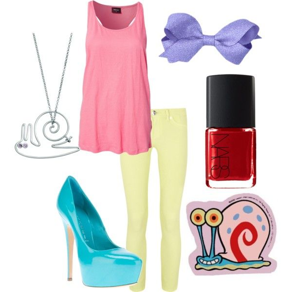 Gary the Snail inspired outfit