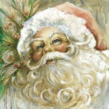 Vintage Santa | Celia Meadors Art - Amarillo, Texas (360 x 360)