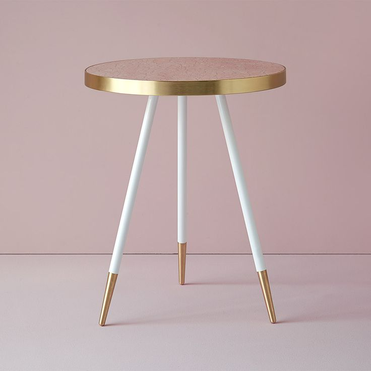 Maison&Objet 2016: British designer Bethan Gray has created a collection of tables with marble tops wrapped in bands of brass