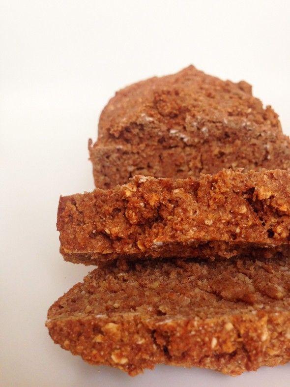 I Love Health | Gezonde havermout ontbijtkoek | http://www.ilovehealth.nl