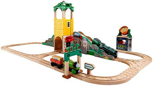 Fisher Price Thomas & Friends Wooden Railway Sam and the Great Bell Set Toy