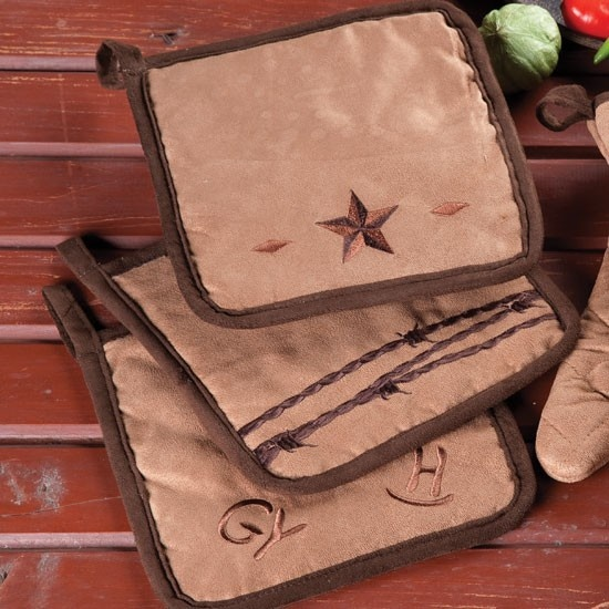 Western Kitchen Pot Holder