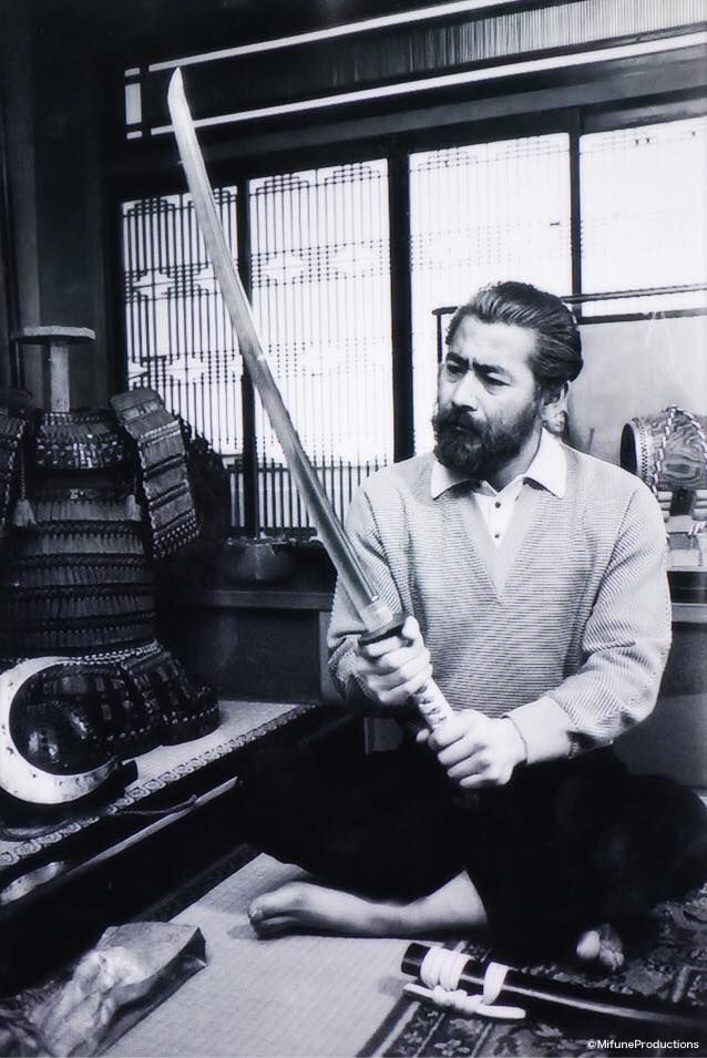 Toshiro Mifune in private