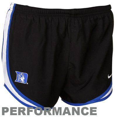 Nike Duke Blue Devils Ladies Duke Blue Tempo Performance Shorts