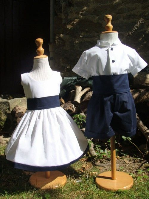 Quelle tenue choisir pour les enfants d'honneur de mon mariage ?