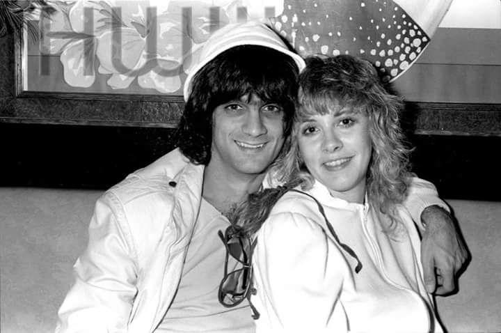 Stevie Nicks and Jimmy Iovine, 1983, photo by HWIII