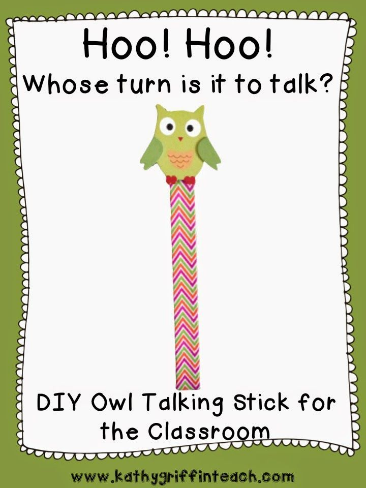 Talking Sticks for the Classroom