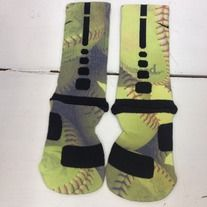 "Products · Custom Nike Elite Socks ""Softball"" · Sock Insanity's Store Admin SOOOOO WANT!!"