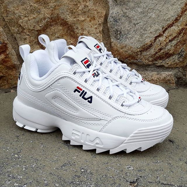 Restock AlertAll Sizes Availables! Fila Disruptor Low White ...