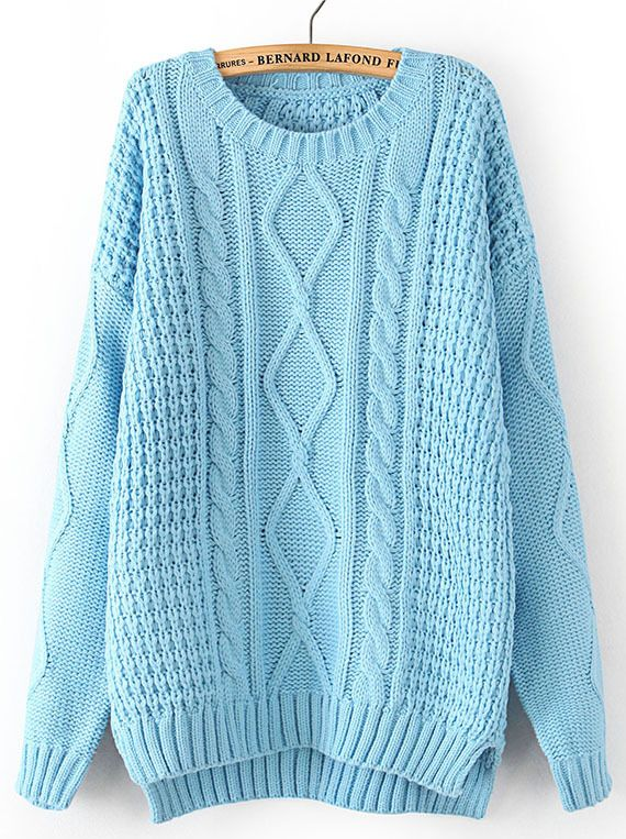 2f28a22fdf2 light blue oversized sweater | **winter** en 2019 | Suéteres lindos ...
