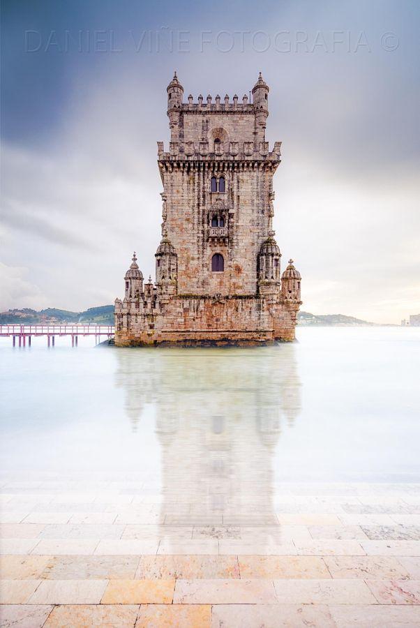 Belém Tower in Lisbon, Portugal by Daniel Viñé Garcia - danielvgphoto.com - Photo 62726367 - 500px