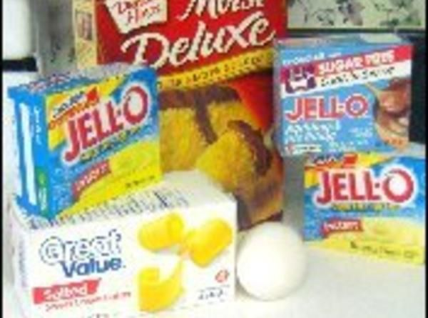 How to make Cake Mix with Pudding Recipe