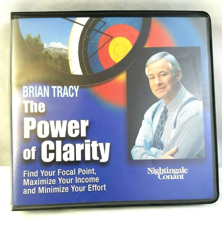 The Power of Clarity by Brian Tracy Nightingale Conant #AudioBook #BrianTracy