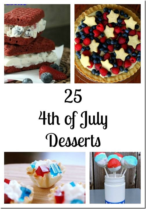 most common 4th of july food