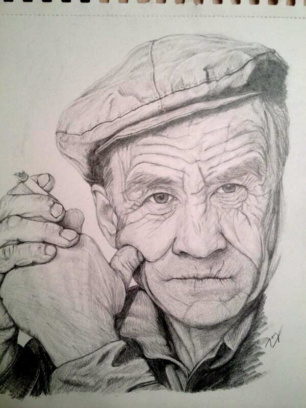 Imagen Relacionada Anciano Dibujo Dibujo Abuela Caras Viejas