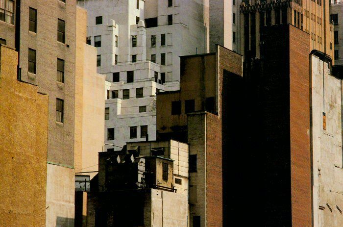 Harry Callahan (1912-1999)    Skyscrapers, New York, 1978