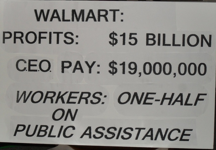 ~BOYCOTT WALMART!!! -- One day at a time I find somewhere else to shop. Shopping local and finding other sources even some distance is actually kinda fun.