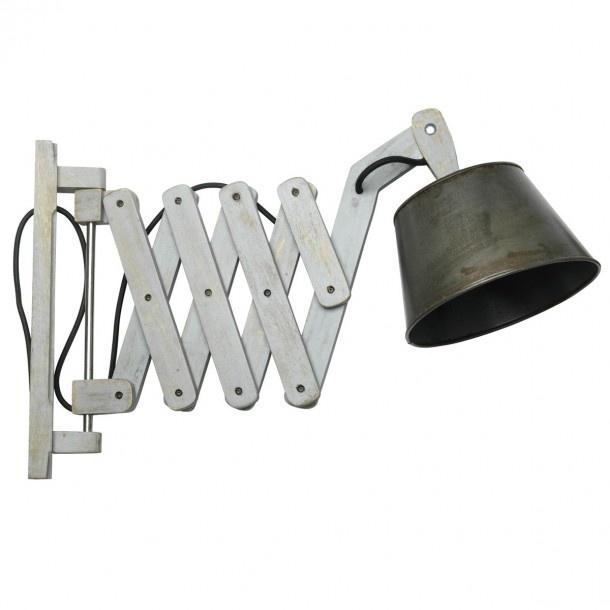 Gave schaarmodel industriele lamp