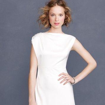 J.Crew Corrina Wedding Dress. $255.  Gorgeous!!  #wedding #jcrewbride