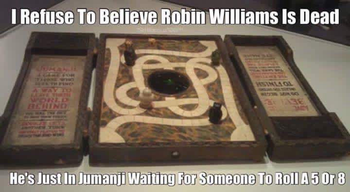 Robin Williams. Jumanji.