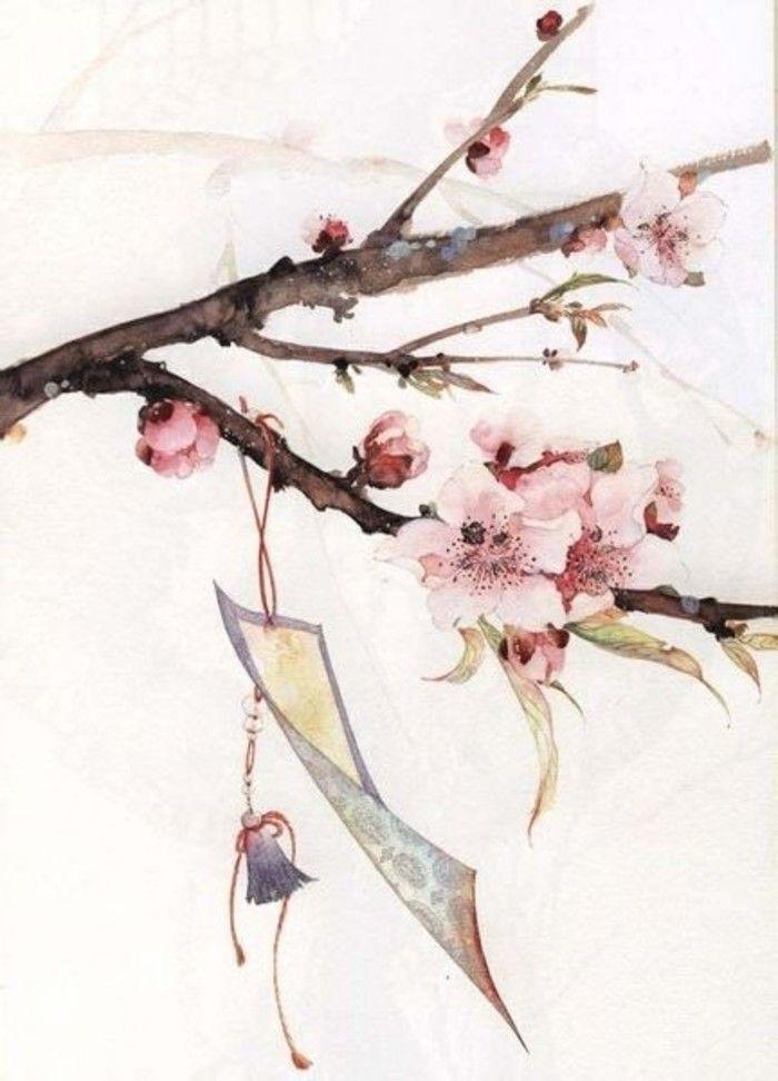 【中国风】风透湘帘花满庭, 庭前春色自多情。