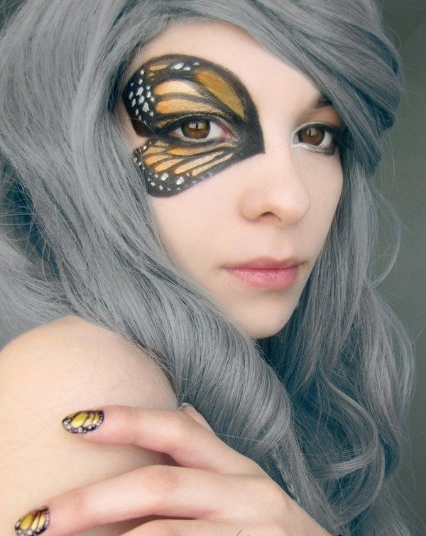 1000+ ideas about Easy Halloween Makeup on Pinterest - Easy Costume Makeup Ideas