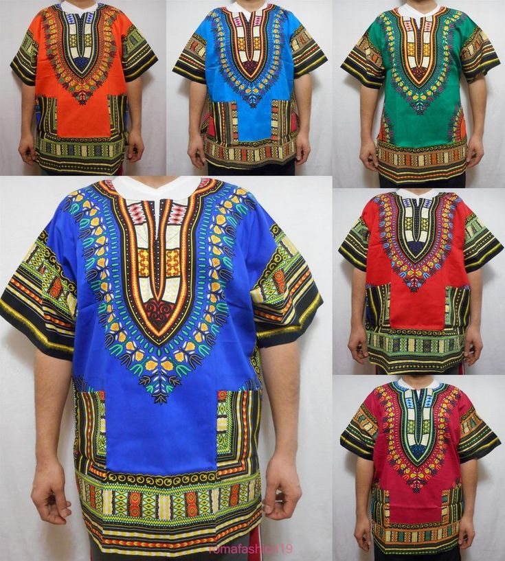 Men Dashiki Boho Tribal Shirt African Vintage Hippie Blouse Women Blouse S M L #Handmade #Dashiki