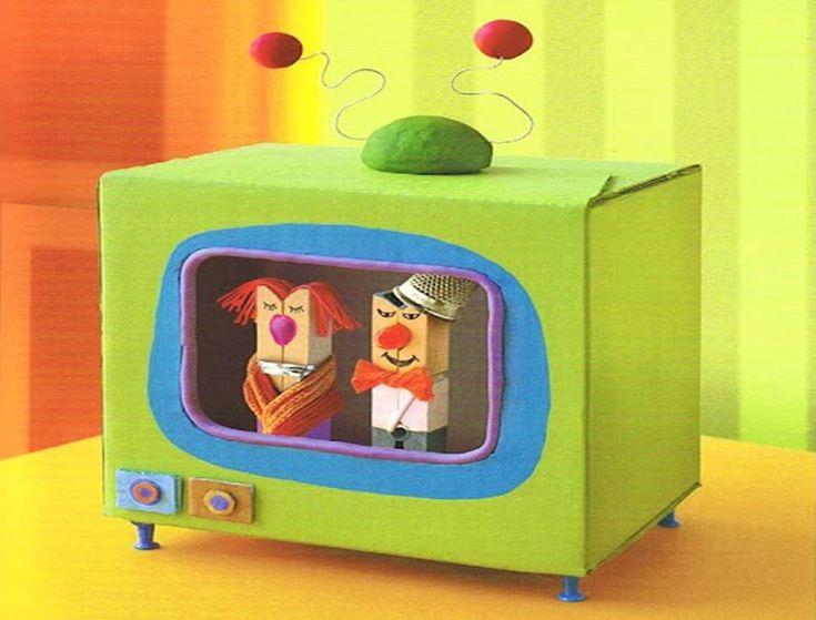 12 best medio de comunicaci n images on pinterest diy - Como hacer una caja ...